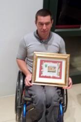 Cristian Sandri: per lui un premio speciali.